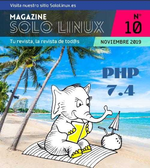 Disponible el décimo número de la revista digital SoloLinux
