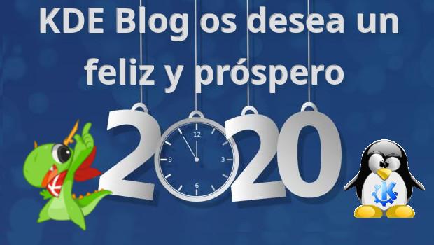 KDE Blog os desea un feliz y própero 2020