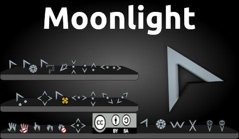Moonlight, cursores estilo Starcraft para Plasma