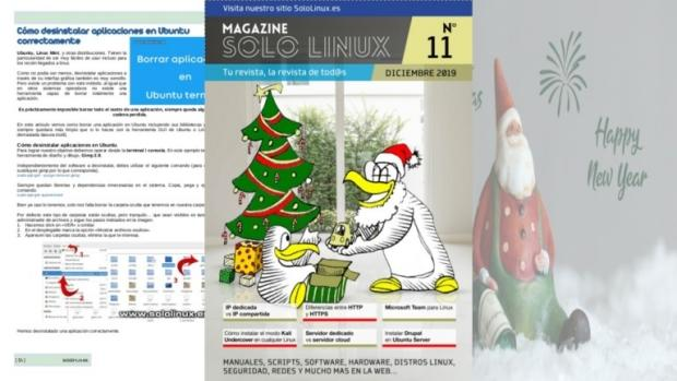 Disponible el decimoprimer número de la revista digital SoloLinux