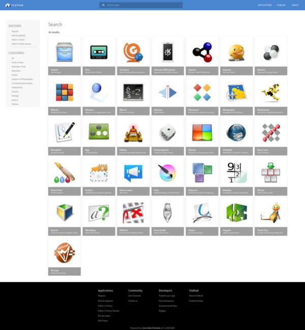 Actualización de las aplicaciones de KDE de agosto de 2020