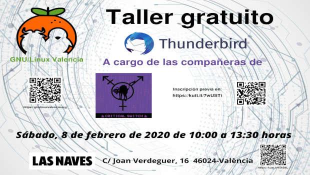 Taller gratuito de Thunderbird