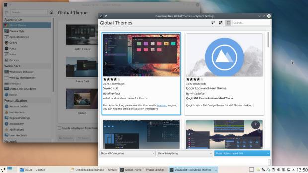 Lanzada la sexta actualización de Plasma 5.18