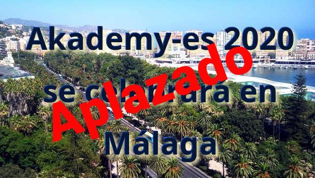 Aplazado Akademy-es 2020 de Málaga