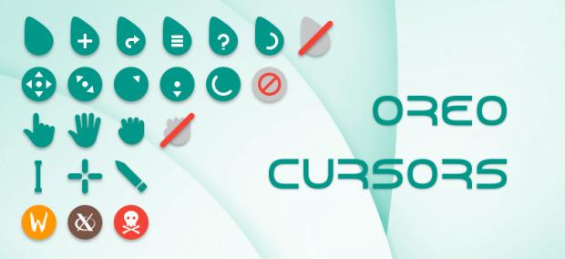 Oreo, cursores simpáticos para Plasma