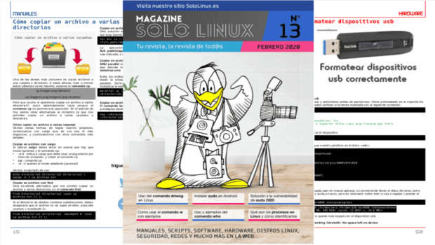 Disponible el decimotercer número de la revista digital SoloLinux