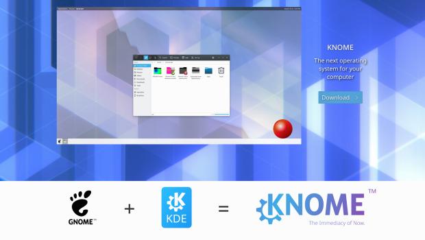Nace KNOME, la fusión de KDE y Gnome