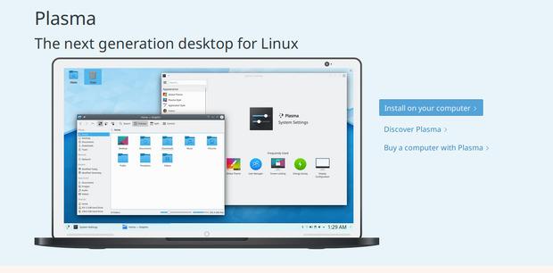 Nueva web de la Comunidad KDE, kde.org evoluciona