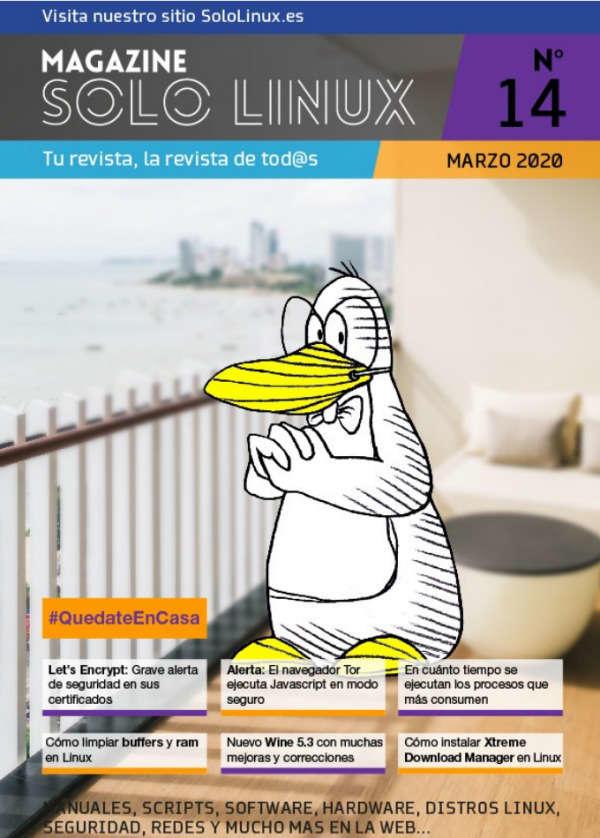 Disponible el decimocuarto número de la revista digital SoloLinux