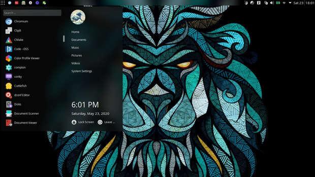 Avalon menu, otro lanzador de aplicaciones para Plasma - Plasmoides de KDE (145)