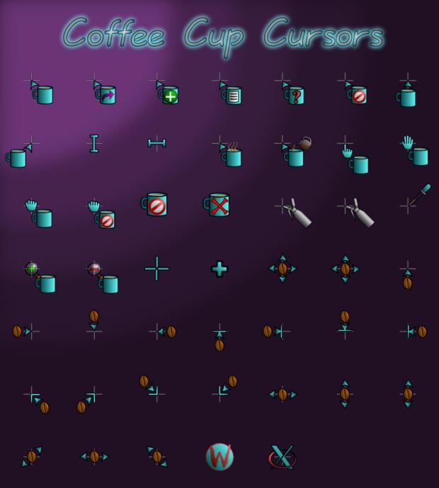 Coffee Cup, cursores para los más cafeteros