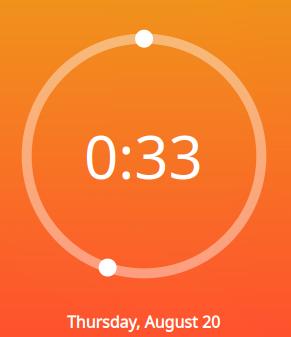 Aesthetic Clock - Plasmoides de KDE (148)