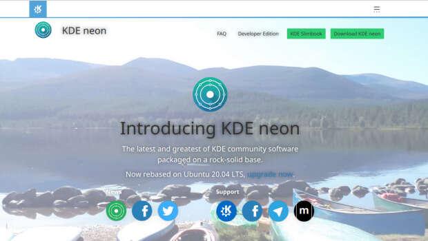 Lanzado KDE Neon 20.04 LTS Focal Fossa