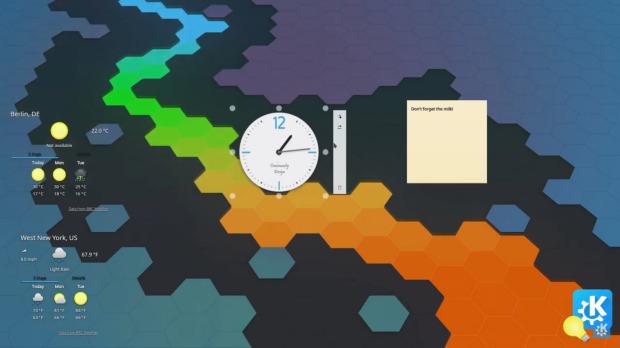 Trucos KDE (VI): configurando plasmoides