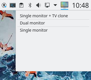 Display Screen Profile Switcher