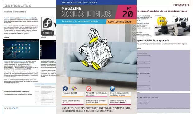 Disponible el vigésimo número de la revista digital SoloLinux