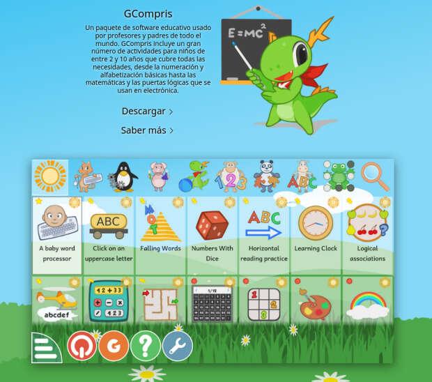 Nace KDE para pekes, nueva web del software educativo KDE
