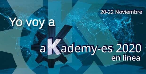 Empieza Akademy-es 2020 en línea con el taller de Kdenlive