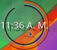 Digital Clock BeClock style - Plasmoides de KDE (164)