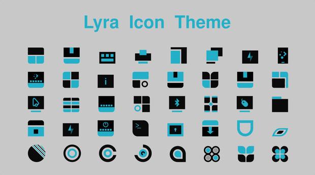 Pack de iconos conceptuales para tu PC, Lyra