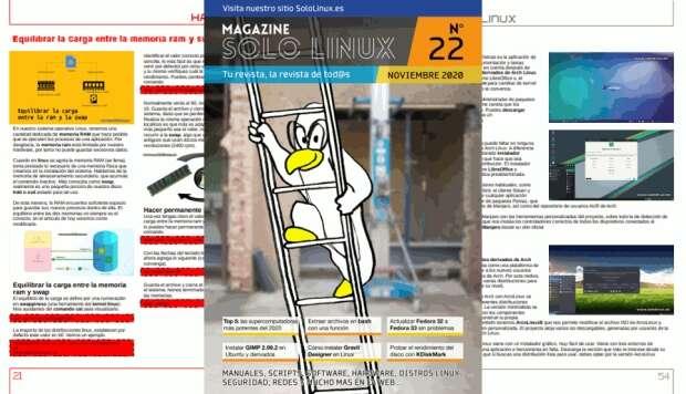 Disponible el vigesimoprimer número de la revista digital SoloLinux