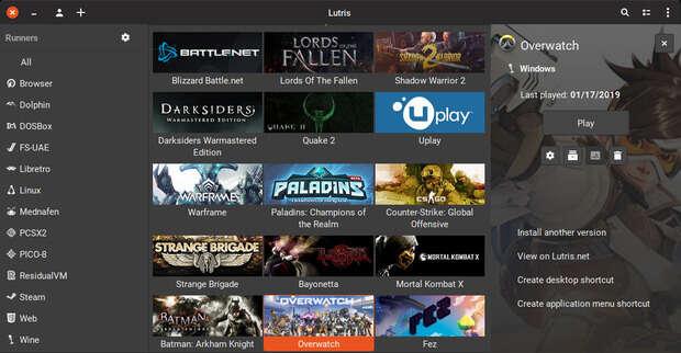 Cómo instalar juegos Gog en Linux con Lutris