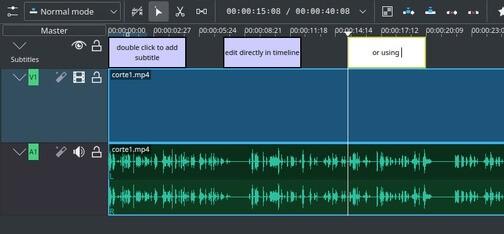 Lanzado Kdenlive 20.12, ahora con subtitulador integrado