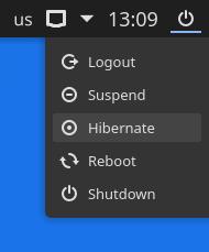 Compact Shutdown - Plasmoides de KDE (172)