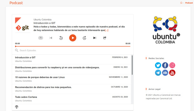 Podcast de Ubuntu Colombia, más audios linuxeros