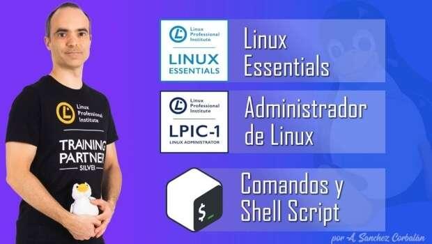 Cursos Linux gratuitos de Antonio Sánchez Corbalán