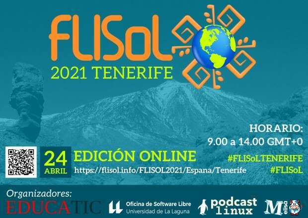 Flisol 2021 de Tenerife