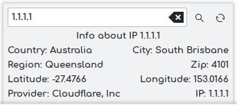 IP Info - Plasmoides de KDE (180)