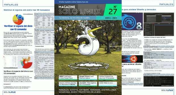 Disponible el vigesimoséptimo número de la revista digital SoloLinux