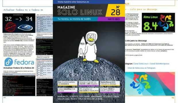Disponible el vigesimoctavo número de la revista digital SoloLinux