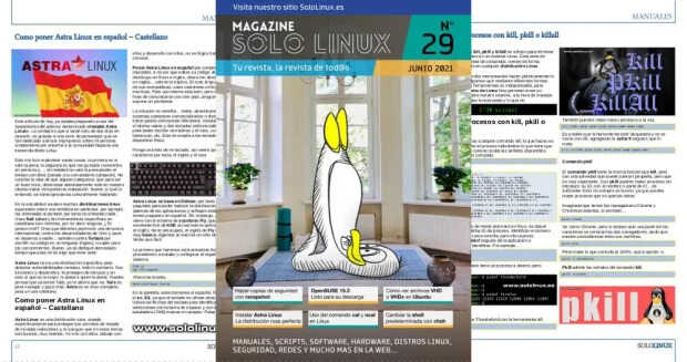 Disponible el vigesimonoveno número de la revista digital SoloLinux