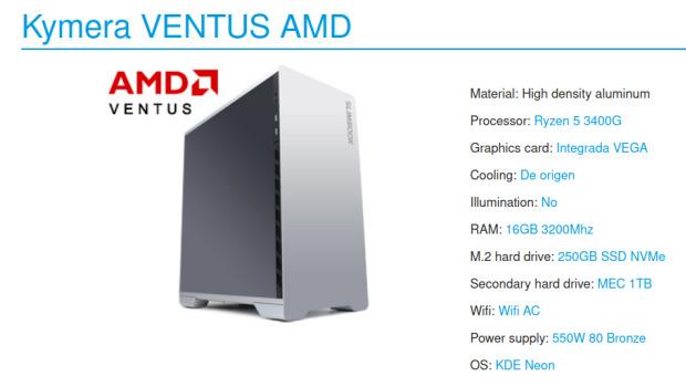 Me he comprado un Slimbook Kimera AMD