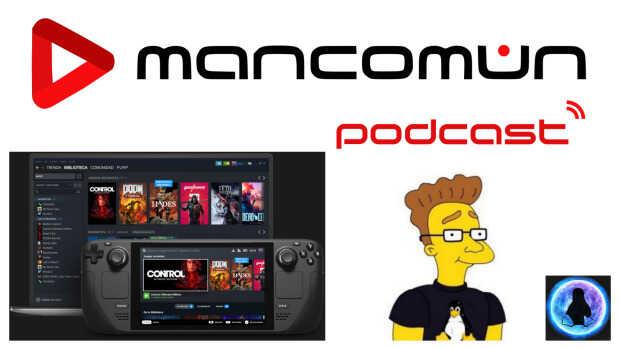 Steam Deck y novedades en los videojuegos libres, con Leillo en Mancomún Podcast